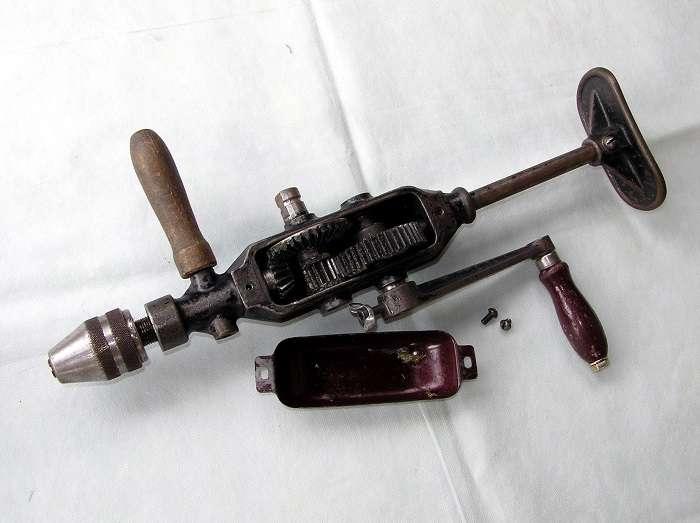 Дрель ручная механическая двухскоростная